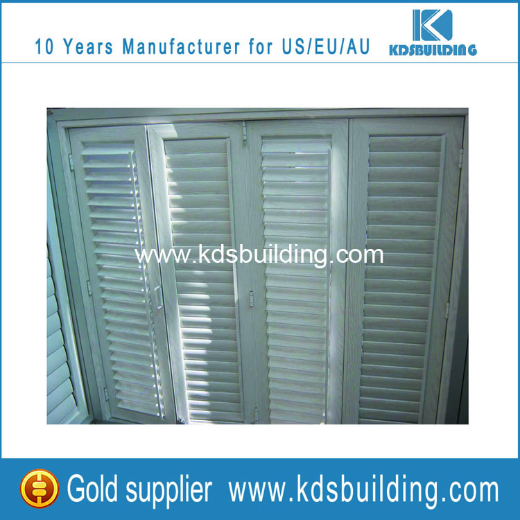 How to clean aluminum window shutters by the easy way ?