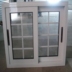 diseo de la parrilla de ventana de corredera de aluminio blanco