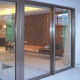 potencia aluminio vidrio puerta corredera