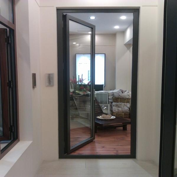 puerta corredera de decorativo interior Puerta de marco de aluminio ...
