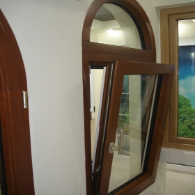 modern wood windows