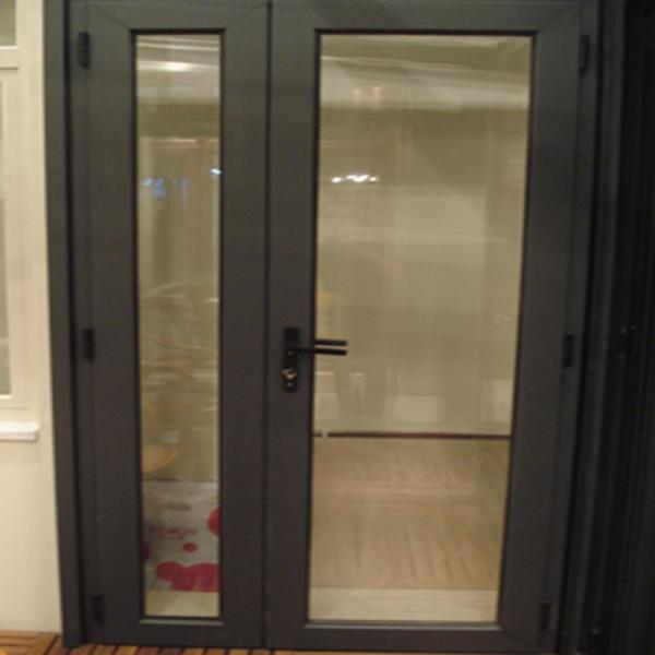 Puerta corredera de decorativo interior doble - Puertas aluminio exterior ...