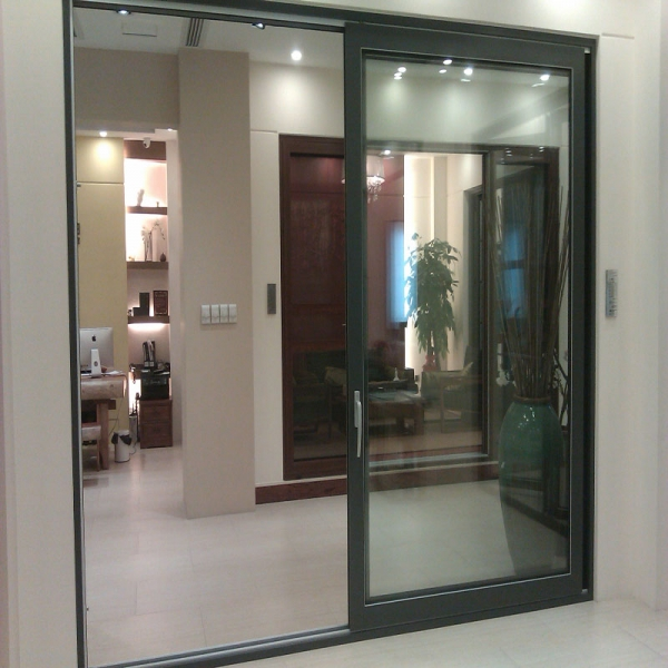 Puerta corredera de aluminio exterior colgante puertas - Puerta corredera exterior ...