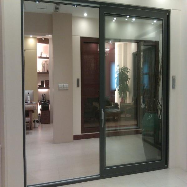 puertas y ventanas exteriores correderas de aluminio