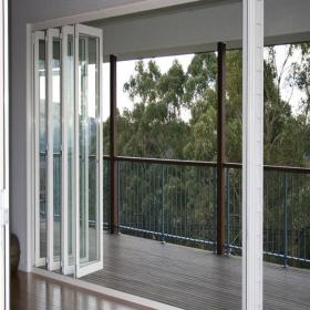 Bisagras de aluminio puertas corredizas puertas de patio - Precio puertas plegables ...