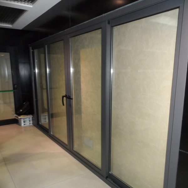 China aluminum sliding door