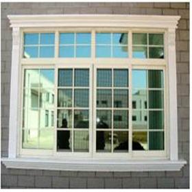 parrilla de ventana moderna corredera de aluminio