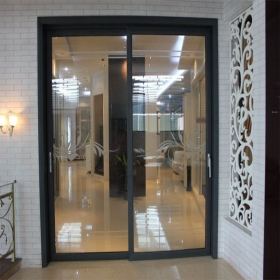 decorative sliding door