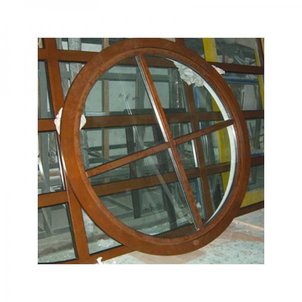 Casa redonda de marcos de ventanas de madera,puertas exteriores de ...