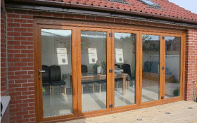 glass bifold doors
