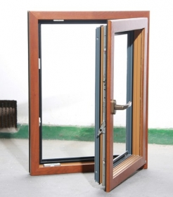 aluminum clad window