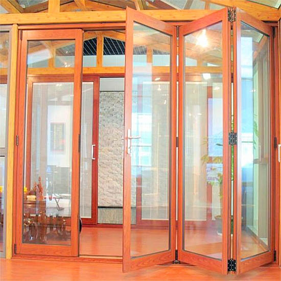 energy saving folding aluminum door