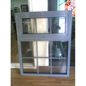 Aluminium window grill design of transparent smart window glass for door window building online