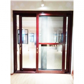 power coated door